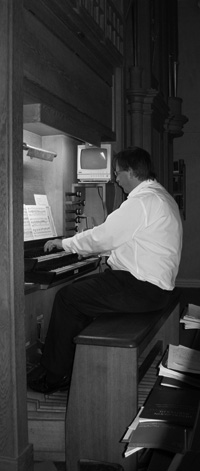Organ recitals and services by James Lloyd Thomas
